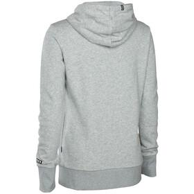 ION Logo Hoody Women grey melange